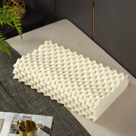 Convoluted Contour Massage Pillow
