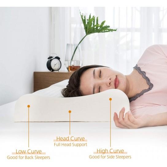 Talalay Latex Contour Pillow